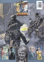 Jeremiah T.23 ; qui est Renard Bleu ? - 4ème de couverture - Format classique