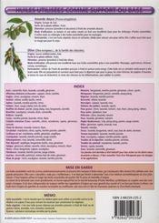 Petit Guide T.150 ; L'Aromathérapie - 4ème de couverture - Format classique