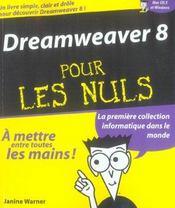 Dreamweaver 8 pour les nuls - Intérieur - Format classique