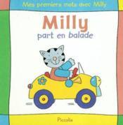 Mes premiers mots avec milly / part en balade - Couverture - Format classique