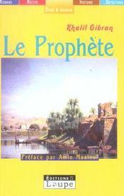 Le prophète - Intérieur - Format classique