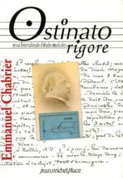 OSTINATO RIGORE N.3 ; Emmanuel Chabrier - Couverture - Format classique