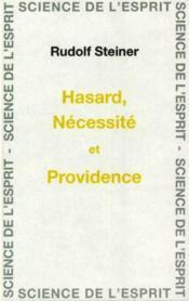 Hasard necessite et providence - Couverture - Format classique