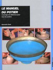 Manuel du potier reedition - Intérieur - Format classique