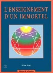 L'Enseignement D'Un Immortel - Couverture - Format classique