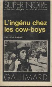 Collection Super Noire N° 90. Lingenu Chez Les Cow Boys. - Couverture - Format classique