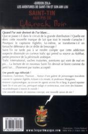 Les aventures de Saint-Tin et son ami Lou T.21 ; Saint-Tin aux pis de l'auroch noir - 4ème de couverture - Format classique