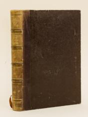Oeuvres inédites précédées de Documents historiques, littéraires et biographiques. [ Edition originale ] - Couverture - Format classique