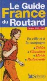 Le guide France du routard - Couverture - Format classique