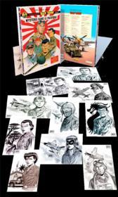 Les aventures de « Buck Danny » Classic ; COFFRET VOL.2 ; T.3 ET T.4 ; mystères dans le Pacifique - Couverture - Format classique
