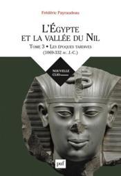 L'Egypte et la vallée du Nil t.3 ; le premier millénaire avant J.-C. - Couverture - Format classique