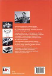 Citroën t.1 ; l'histoire et les secrets de son bureau d'études depuis 1917 - 4ème de couverture - Format classique