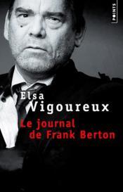 Le journal de Frank Berton - Couverture - Format classique
