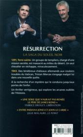 Le cycle du soleil noir T.4 ; résurrection - 4ème de couverture - Format classique