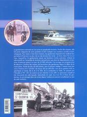 Un Siecle De Vehicules De La Gendarmerie - 4ème de couverture - Format classique