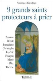 9 grands saints protecteurs à prier - Couverture - Format classique