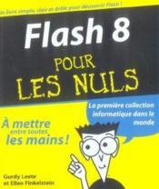 Flash 8 pour les nuls - Couverture - Format classique