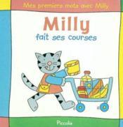 Mes premiers mots avec milly / fait ses courses - Couverture - Format classique
