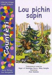 Lou pichin sapin - Couverture - Format classique