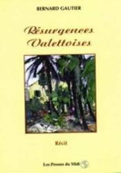 Resurgences Valettoises - Couverture - Format classique