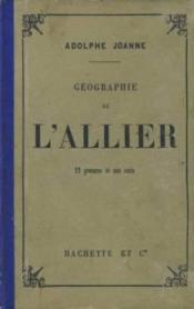 Geographie de l'allier - Couverture - Format classique