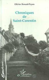 Chroniques de Saint corentin - Couverture - Format classique