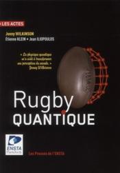Rugby quantique - Couverture - Format classique