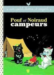 Pouf et Noiraud campeurs - Couverture - Format classique