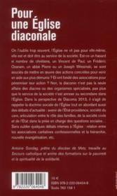 Pour une Eglise diaconiale ; vers Diaconia 2013 - Couverture - Format classique
