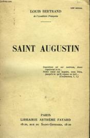 Saint Augustin. - Couverture - Format classique