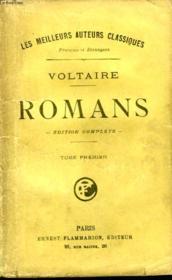 Romans. Edition Complete. Tome 1. - Couverture - Format classique