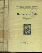 Blanquerna, Maestro De La Perfeccion Cristina, Tomo I Y Ii - Couverture - Format classique