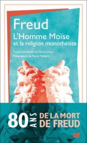 L'homme Moïse et la religion monothéiste - Couverture - Format classique