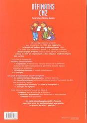 CM2 ; t.1 ; fiches à photocopier - 4ème de couverture - Format classique