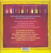 Au Bonheur Des Enfants - 4ème de couverture - Format classique