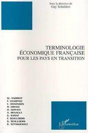 Terminologie Economique Francaise Pour Les Pays En Transition - Intérieur - Format classique
