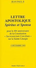 Lettre apostolique