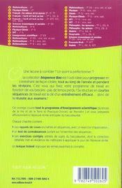 Enseignement scientifique ; svt et physique-chimie - 4ème de couverture - Format classique