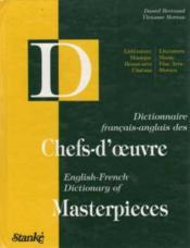 Dictionnaire F/A Des Chefs D'Oeuvre - Couverture - Format classique
