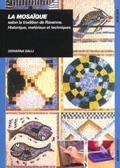 Mosaique Selon La Tradition De Ravenne - Intérieur - Format classique