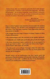 Les iroquois et le rêve chamanique - 4ème de couverture - Format classique