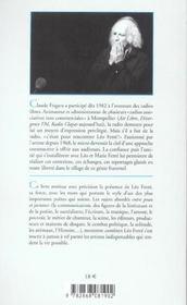 Leo ferre - entretiens entre peau et jactance 83-91 - 4ème de couverture - Format classique