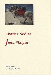 Jean Sbogar - Intérieur - Format classique