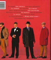L'éternel masculin. Les incontournables de la mode masculine. - 4ème de couverture - Format classique