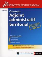 telecharger Concours adjoint administratif territorial – categorie C (edition 2010) livre PDF/ePUB en ligne gratuit