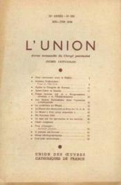 L'union, revue mensuelle du clergé paroissial, 76e année, n°652, mai juin - Couverture - Format classique