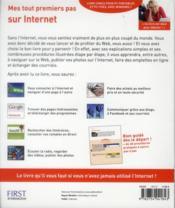 Mes tout premiers pas sur internet ; pour Windows 7 (2e édition) - 4ème de couverture - Format classique
