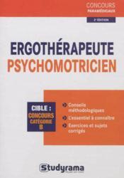Ergothérapeute, psychomotricien (2e édition) - Couverture - Format classique