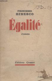 Egalite. - Couverture - Format classique