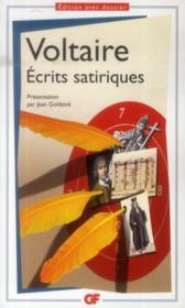 Écrits satiriques - Couverture - Format classique